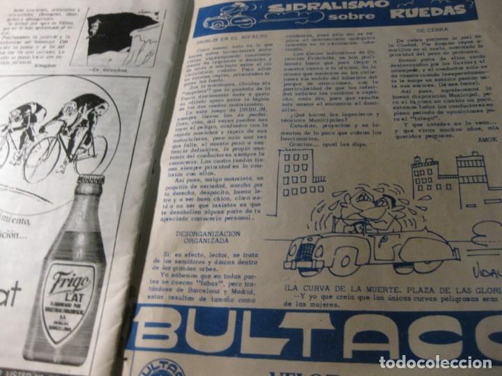 Coleccionismo deportivo: revista satirica de futbol y deportes el once nº 1026 año 1965 el sabadell vuelve a primera - Foto 5 - 180493075