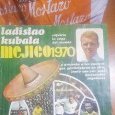 Coleccionismo deportivo: REVISTA MEJICO 1970. MUNDIAL FÚTBOL. EURODIT.. Lote 180904837
