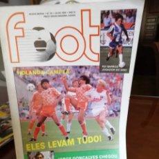 Coleccionismo deportivo: REVISTAS FOOT. PORTUGAL 1988. ESPECIAL EUROCOPA.. Lote 180905457