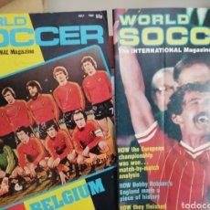 Coleccionismo deportivo: REVISTAS FÚTBOL AÑOS 80. MUNDIALES Y EUROCOPAS.. Lote 180983926
