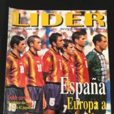 Coleccionismo deportivo: FÚTBOL LÍDER 2 - ESPAÑA - LAUDRUP - EUROCOPA 96 - AS DON BALÓN MARCA SPORT ALBUM CROMO. Lote 181868148