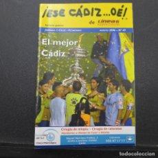 Coleccionismo deportivo: LOTE DE 43 REVISTAS ESE CADIZ OE. Lote 182426727