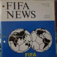 Coleccionismo deportivo: F.I.F.A. NEWS Nº 190. Lote 182447430