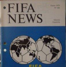 Coleccionismo deportivo: F.I.F.A. NEWS Nº 188. Lote 182447435