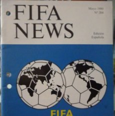 Coleccionismo deportivo: F.I.F.A. NEWS Nº 204. Lote 182447450