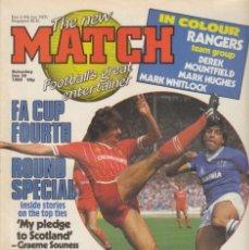 Coleccionismo deportivo: MATCH 26-01-1985. Lote 287883593