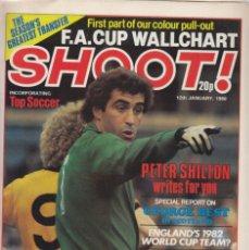 Coleccionismo deportivo: SHOOT 12-01-1980. Lote 287883603