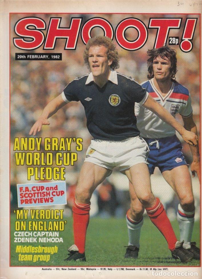 SHOOT 20-02-1982 (Coleccionismo Deportivo - Revistas y Periódicos - otros Fútbol)