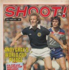 Coleccionismo deportivo: SHOOT 20-02-1982. Lote 215251572