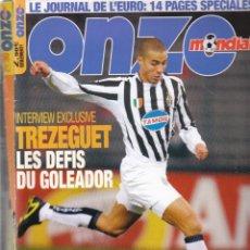 Coleccionismo deportivo: ONZE MONDIAL AÑO COMPLETO 2004. Lote 182447980
