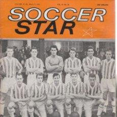 Coleccionismo deportivo: SOCCER STAR 03-03-1962. Lote 182448052