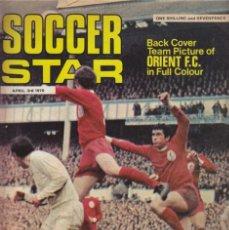 Coleccionismo deportivo: SOCCER STAR 03-04-1970. Lote 182448055