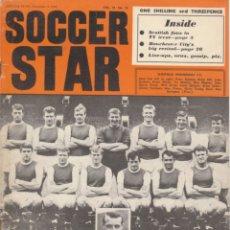 Coleccionismo deportivo: SOCCER STAR 03-12-1965. Lote 182448062
