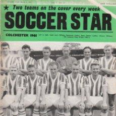 Coleccionismo deportivo: SOCCER STAR 04-03-1961. Lote 182448065