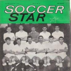 Coleccionismo deportivo: SOCCER STAR 04-05-1963. Lote 182448077