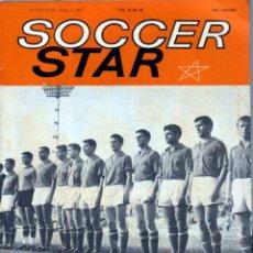 Coleccionismo deportivo: SOCCER STAR 04-08-1962. Lote 182448080