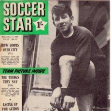 Coleccionismo deportivo: SOCCER STAR 04-09-1964. Lote 182448092