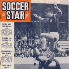 Coleccionismo deportivo: SOCCER STAR 04-12-1964. Lote 182448095