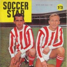 Coleccionismo deportivo: SOCCER STAR 05-01-1968. Lote 182448107