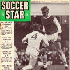 Coleccionismo deportivo: SOCCER STAR 05-03-1965. Lote 182448110