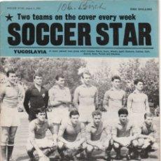 Coleccionismo deportivo: SOCCER STAR 05-08-1961. Lote 182448130