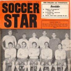 Coleccionismo deportivo: SOCCER STAR 05-05-1967. Lote 182448132
