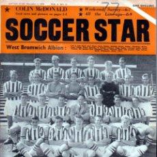 Coleccionismo deportivo: SOCCER STAR 05-12-1959. Lote 182448142