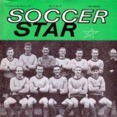 Coleccionismo deportivo: SOCCER STAR 06-03-1964. Lote 182448145