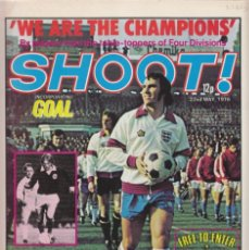 Coleccionismo deportivo: SHOOT 22-05-1976. Lote 287883698