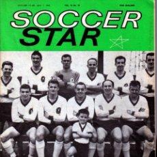 Coleccionismo deportivo: SOCCER STAR 07-04-1962. Lote 182448182