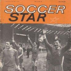 Coleccionismo deportivo: SOCCER STAR 07-05-1965. Lote 182448185