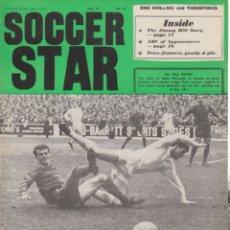 Coleccionismo deportivo: SOCCER STAR 07-07-1967. Lote 182448207