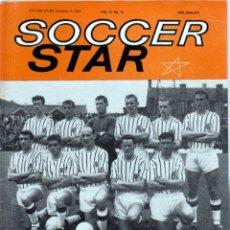 Coleccionismo deportivo: SOCCER STAR 07-12-1963. Lote 182448222