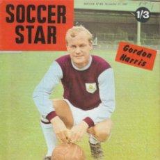 Coleccionismo deportivo: SOCCER STAR 17-11-1967. Lote 182448930