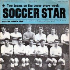 Coleccionismo deportivo: SOCCER STAR 18-03-1961. Lote 182448935
