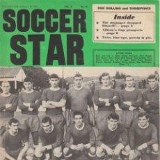 Coleccionismo deportivo: SOCCER STAR 17-02-1967. Lote 182448940
