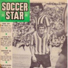 Coleccionismo deportivo: SOCCER STAR 18-09-1964. Lote 182448950