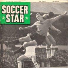 Coleccionismo deportivo: SOCCER STAR 30-10-1964. Lote 182448952