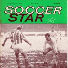Coleccionismo deportivo: SOCCER STAR 19-02-1965. Lote 182448970
