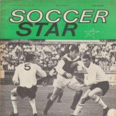 Coleccionismo deportivo: SOCCER STAR 20-08-1965. Lote 182449020