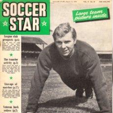 Coleccionismo deportivo: SOCCER STAR 21-08-1964. Lote 182449050