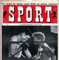 Coleccionismo deportivo: SPORT (BRITÁNICA) 22-07-1949. Lote 182449117