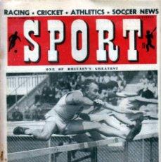 Coleccionismo deportivo: SPORT (BRITÁNICA) 29-07-1949. Lote 182449157