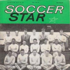 Coleccionismo deportivo: SOCCER STAR 26-01-1963. Lote 182449230