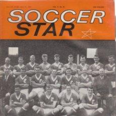 Coleccionismo deportivo: SOCCER STAR 27-04-1963. Lote 182449280