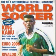 Coleccionismo deportivo: WORLD SOCCER FEBRERO 2000. Lote 182449372