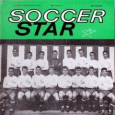 Coleccionismo deportivo: SOCCER STAR 30-11-1963. Lote 182449420