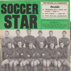 Coleccionismo deportivo: SOCCER STAR 31-03-1967. Lote 182449430