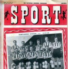 Coleccionismo deportivo: SPORT (BRITÁNICA) 09-12-1949. Lote 182449545