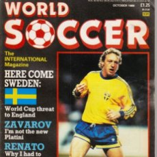 Coleccionismo deportivo: WORLD SOCCER OCTUBRE 1988. Lote 182449552